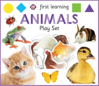 First Learning Animals Play Set by Roger Priddy