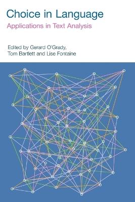 Choice in Language by Gerard O'Grady