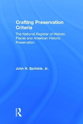 Crafting Preservation Criteria book