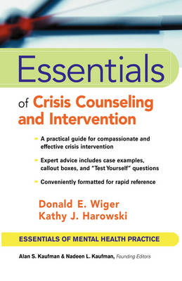 Essentials of Crisis Counseling and Intervention book