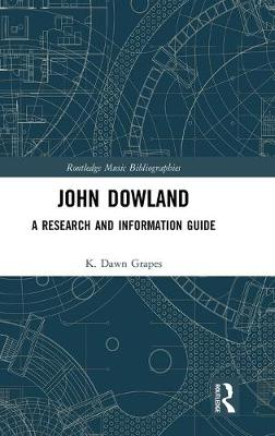 John Dowland: A Research and Information Guide book