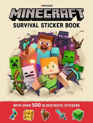 Minecraft Survival Sticker Book by Mojang AB
