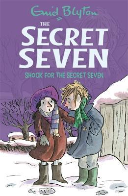 Secret Seven: Shock For The Secret Seven by Enid Blyton