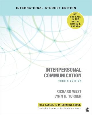 Interpersonal Communication - International Student Edition by Richard West