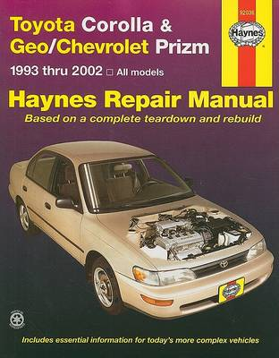 Toyota Corolla and Geo/Chevrolet Prizm by Jay Storer
