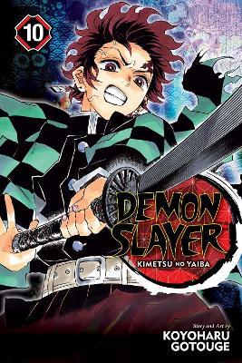 Demon Slayer: Kimetsu no Yaiba, Vol. 10 by Koyoharu Gotouge