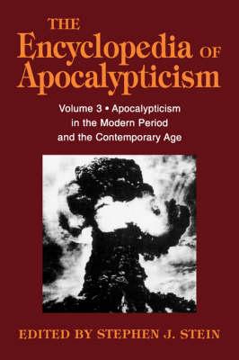 Encyclopedia of Apocalypticism by Bernard McGinn