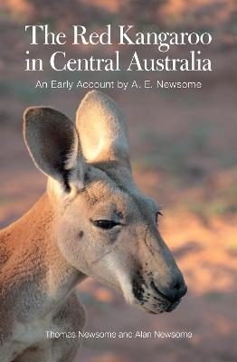 Red Kangaroo in Central Australia book