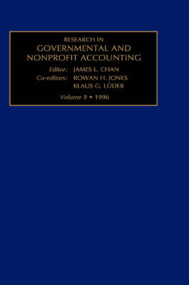 Research in Governmental and Nonprofit Accounting by James L. Chan