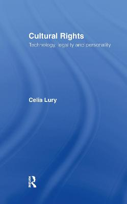 Cultural Rights by Celia Lury