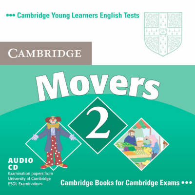 Cambridge Young Learners English Tests Movers 2 Audio CD book