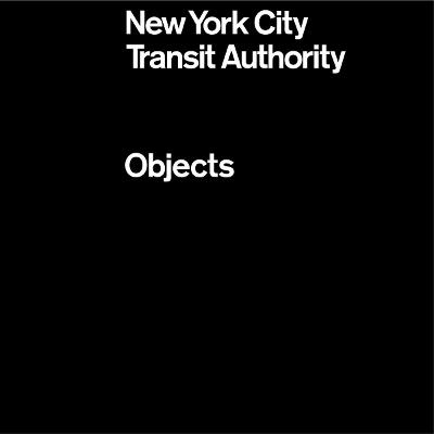 NYCTA Objects book