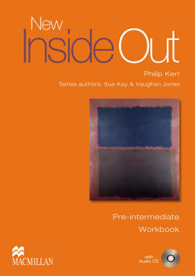New Inside Out Pre-Intermediate Workbook Pack without Key by Sue Kay