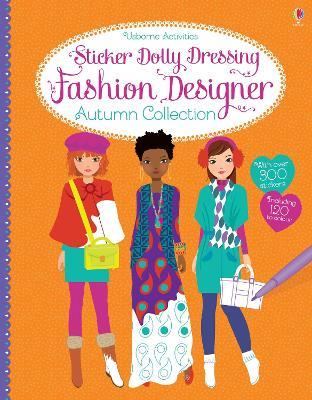Sticker Dolly Dressing Fashion Designer Autumn Collection by Fiona Watt