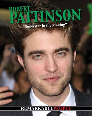 Robert Pattinson book