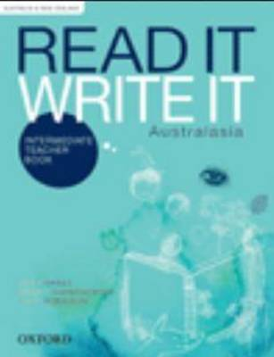 Read It Write It Intermediate Australasia Teacher Book by Kathy Shiels