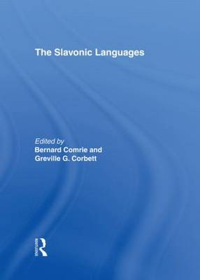 The Slavonic Languages by Corbett Greville