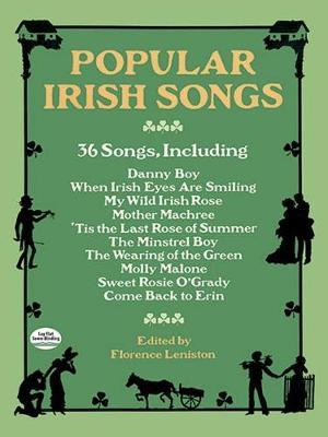 Popular Irish Songs book