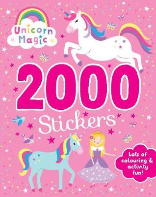 Unicorn Magic 2000 Stickers book