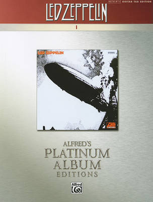 Led Zeppelin -- I Platinum Guitar by Led Zeppelin