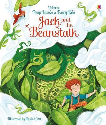 Peep Inside a Fairy Tale Jack and the Beanstalk by Anna Milbourne
