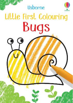 Little First Colouring Bugs by Kirsteen Robson