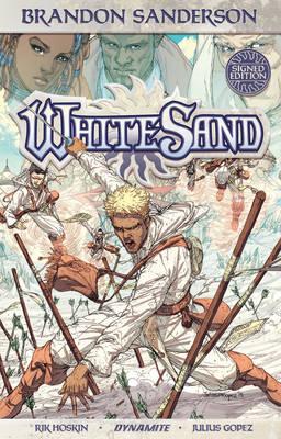 Brandon Sanderson's White Sand Volume 1 (Signed Limited Edition) by Julius M. Gopez