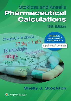 Stoklosa and Ansel's Pharmaceutical Calculations book