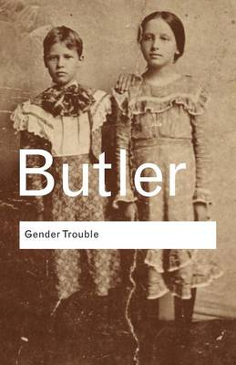 Gender Trouble book