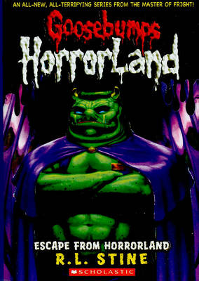 Escape from Horrorland by R L Stine