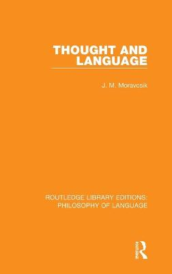 Thought and Language book