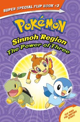 Pokemon Super Special Flip Book: #3 The Power of Three / Ancient Pokemon Attack by Helena Mayer