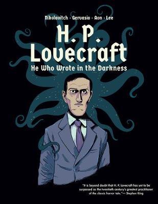 H. P. Lovecraft by Alex Nikolavitch