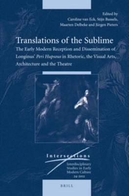 Translations of the Sublime by Dr. Caroline van Eck