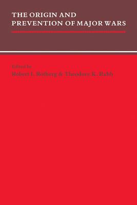 Origin and Prevention of Major Wars book
