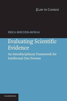 Evaluating Scientific Evidence by Erica Beecher-Monas