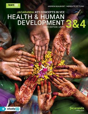 Jacaranda Key Concepts in VCE Health & Human Development Units 3 and 4 by Andrew Beaumont
