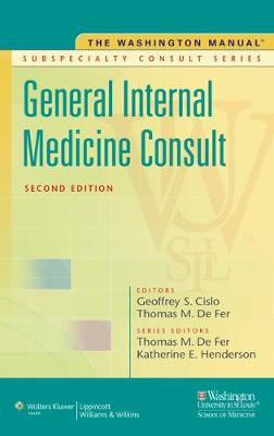 Washington Manual (R) General Internal Medicine Subspecialty Consult book