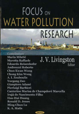 Focus on Water Pollution Research by James V. Livingston