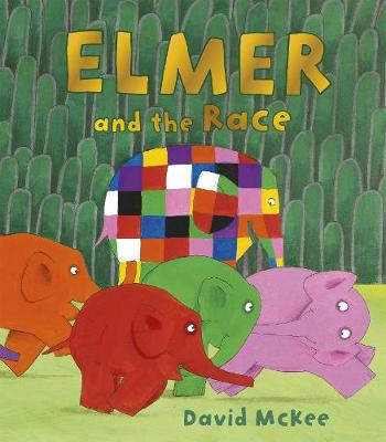 Elmer and the Race book