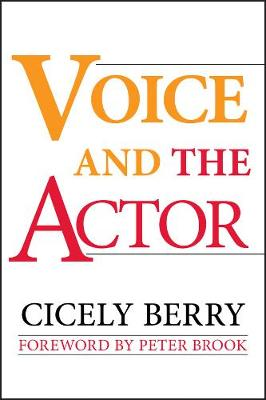 Voice and the Actor book