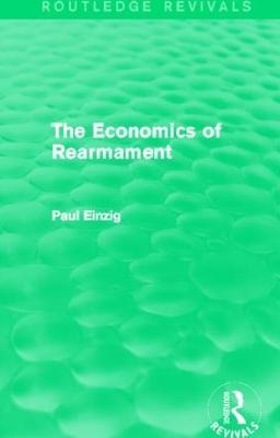 Economics of Rearmament book