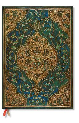 2022 Turquoise Chronicles, Grande (Wk at a Time-Vertical) Diary: Hardcover, Vertical Layout, 100 gsm, elastic closure book