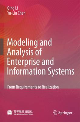 Modeling and Analysis of Enterprise and Information Systems by Qing Li