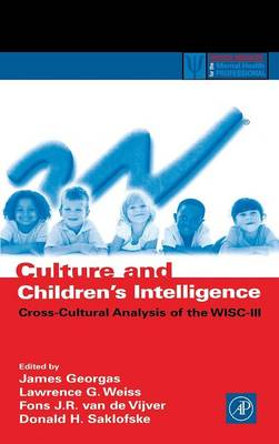 Culture and Children's Intelligence by James Georgas