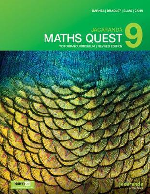 Jacaranda Maths Quest 9 Victorian Curriculum 1E (Revised) LearnON & Print book