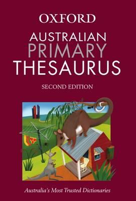 Australian Primary Oxford Thesaurus book