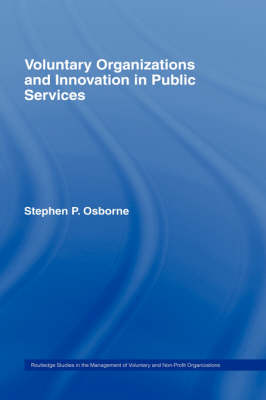 Voluntary Organizations and Innovation in the Public Services book