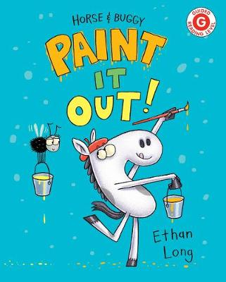 Horse And Buggy Paint It Out!: Horse & Buggy by Ethan Long