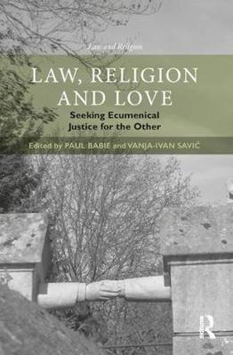 Law, Religion and Love book